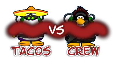 Tacos VS. Crew